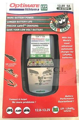 Tecmate Optimate Lithium Chargeur Batterie Tm-291 Tm291