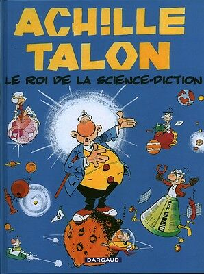 Livre BD Achille Talon le roi de la science-diction Book