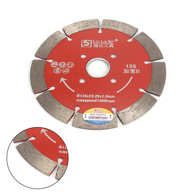 5''Dry/Wet Cutting Disc Diamond Saw Blade F Slotted Saw Blade Stone Cutting Disc