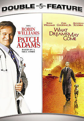 PATCH ADAMS/WHAT DREAMS MAY COME DOUBLE FEATURE (DVD) by
