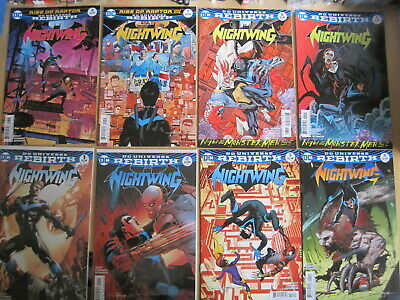 Nightwing : Complete Run 1,2,3,4,5,6,7,8,9,10,11-16. Dc Rebirth 2016 Series