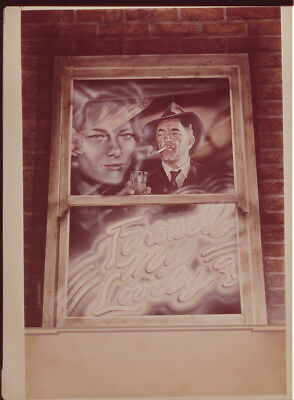 Farewell My Lovely Original 8x10 Studio Transparence Robert Mitchum c.Rampling