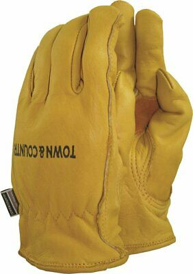 T/CNTRY Town and Country TGL419 Superior Grade Leather Gloves Mens - Large