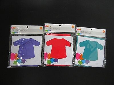 4Pcs Kids Art Smocks Waterproof Long Sleeve