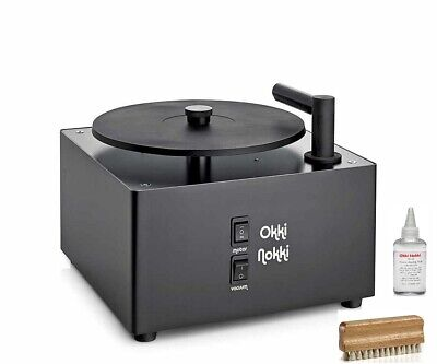 Okki Nokki Rcm Mk 2 Record Washing Machine Record Cleaner Black