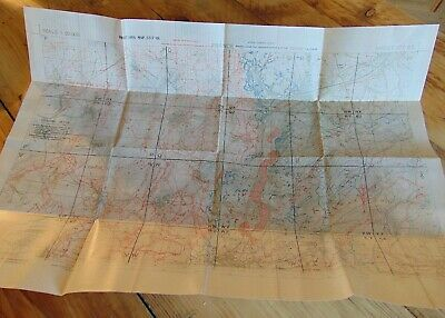 British WW1 ALBERT Somme Trench Map July 1918 Aveluy Wood Auchonvillers NEW