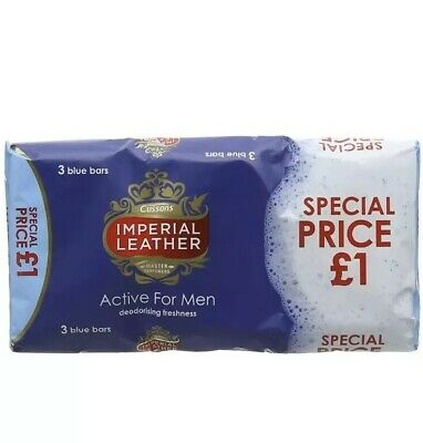 Imperial Leather Original Ivory Bar 100g pack Of 6