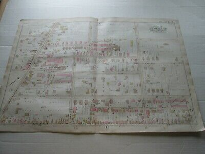 "1889 Antique Map, Philadelphia Ward 22, Plate 2, ""Germantown Hosiery Mills, Plus"