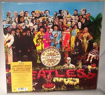 LP THE BEATLES Sgt Peppers (180g Vinyl, STEREO 50th Anvsy, 2017) NEW MINT SEALED