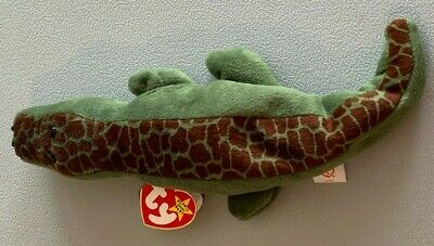 831daedbf47 Ty Beanie Baby Ally The Alligator Retired. Hang Tush Tag Errors Excellent  Cond.