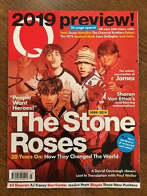 Q Mag March 2019 Review The Stone Roses James Paul Weller Jessica Pratt Dido
