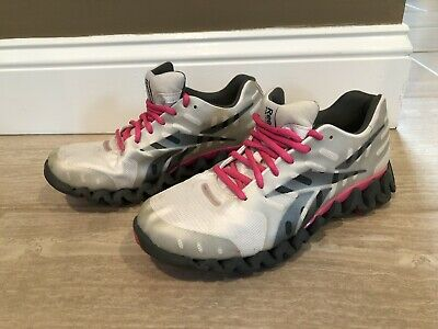 e80dbcc50af REEBOK ZIGTECH WOMEN S Black and Pink Size 6.5 - 3d Fuseframe ...