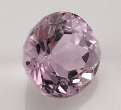 Kunzite 8 Mm Round Cut Natural And Untreated (Eb6)