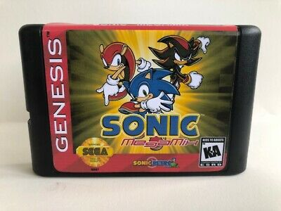 Sonic the Hedgehog Megamix, Custom Sonic Hack Game for the Sega Genesis System