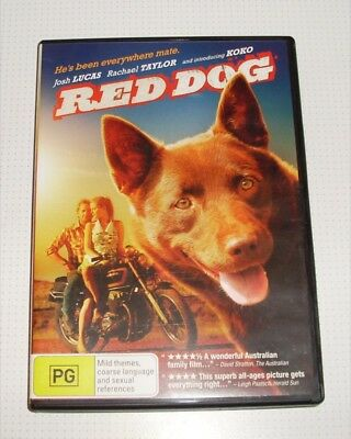 DVD - Red Dog - Josh Lucas - Rachael Taylor