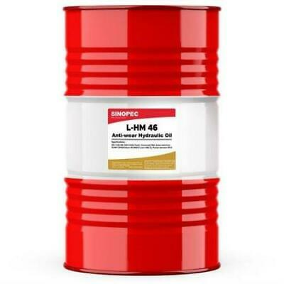 AW 46 Hydraulic Oil Fluid (ISO VG 46, SAE 15) - 55 Gallon Drum