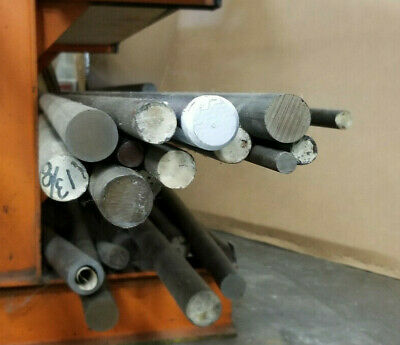 """11L17 or 12L14 """"leaded"""" steel round 1/4 3/8 1/2 thru 2.125"""" BY FOOT up to 12feet"""