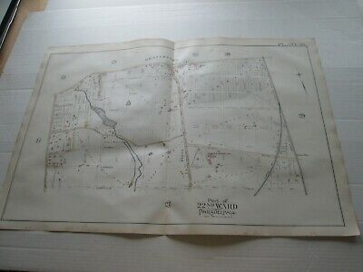 "1889 Antique Map, Philadelphia Ward 22, Plate 26,""Jewish Hospital, Tabor Sta."""