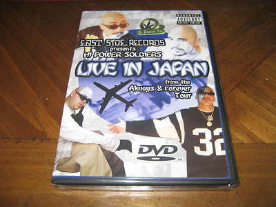 Hi Power Soldiers Live in Japan DVD - Mr Capone-E Mr Criminal SILENT Chicano Rap