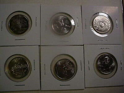 1999 - 2009 All 56 D State & Territory Quarters - BU - 56 Coins -  Uncirculated