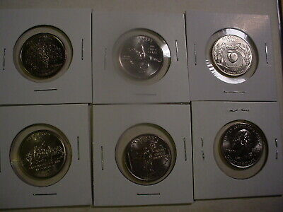 1999 - 2009 All 56 P State & Territory Quarters - BU - 56 Coins -  Uncirculated