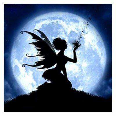 Angel Luminous DIY 3D Wall Sticker Glow In The Dark Home Decor Kid Bedroom Decal