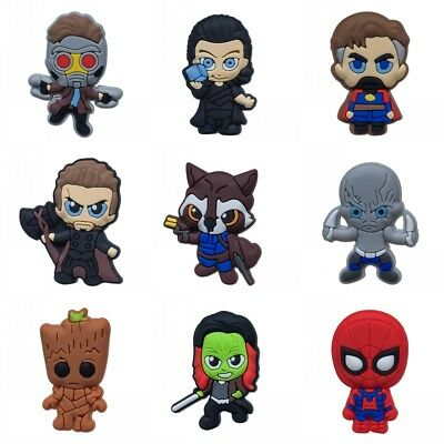 50PCS Avengers Infinity War-17 Shoe Charms Shoes Accessories Kids Gifts