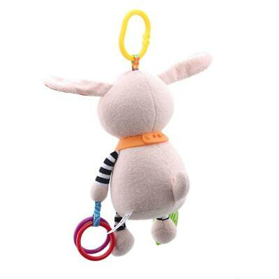 Newborn Infant Baby Pram Handbell Bed Stroller Hanging Toy Animal Rattles LC