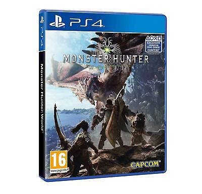 Monster Hunter World PS4 Game For Sony PlayStation 4 - NEW & SEALED