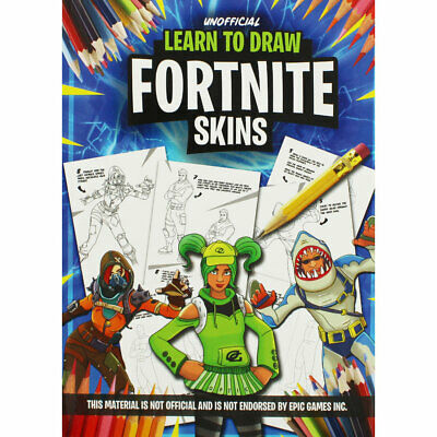 Unofficial Learn to Draw Fortnite Skins (Paperback), Non Fiction Books, New