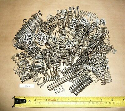 MEDIUM SMALL COMPRESSION SPRINGS ASSORTED VARIOUS TYPES SIZES JOB LOT M25 450g+