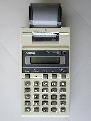 calculatrice. .Palm Printer CANON P1-D ..occasion ..Vintage ..Collection