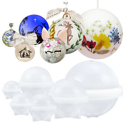 Orb Sphere Resin Silicone Mould for Jewellery Pendant Keychain Earrings Necklace