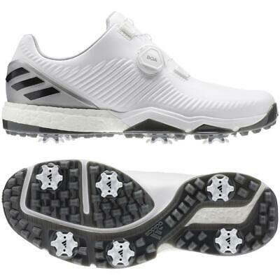 buy online 6f066 ba3e7 adidas Golf 2019 Adipower 4orged BOA Golf Shoes (White Grey Six)