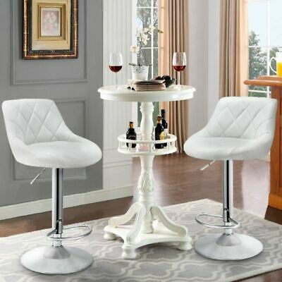 Fantastic 2 X Faux Leather Breakfast Bar Stool Kitchen Barstools Pdpeps Interior Chair Design Pdpepsorg