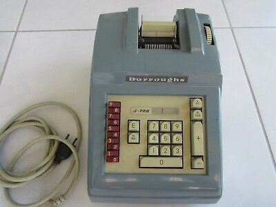 Machine à calculer BURROUGHS Universal AP J705 ..occasion ..Vintage ..Collection