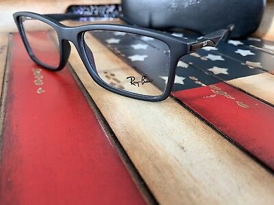 bc8af1193b NEW RAY-BAN RX-ABLE Classic Eyeglasses RB 7023 2077 55-17 Matte ...