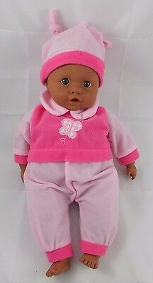 Lissi African American Baby Doll w/ Sounds 14""
