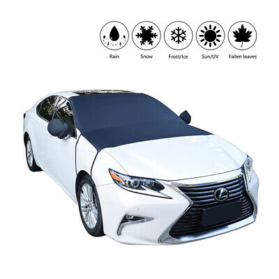 Magnetic Car Windscreen Cover Ice Sun  Snow Protector Exterior Shield Guard 32