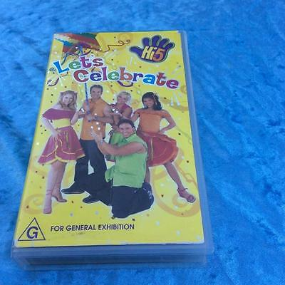 Hi 5 Lets Celebrates Vhs Video Pal~ A Rare Find In Excellent Condition