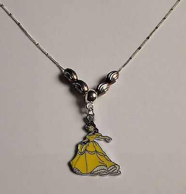 DISNEY BEAUTY & THE BEAST - Princess BELLE Inspired NECKLACE