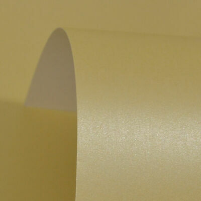 01 25 X SHEETS A4 PEARLESCENT SHIMMER DOUBLE SIDED PAPER ICE SILVER 300GM