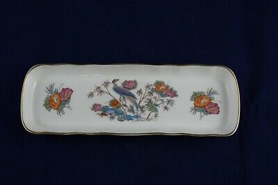 Wedgwood Bone China Kutani Crane R4464 Pen Tray