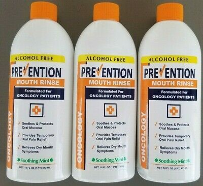 New Age Prevention Oncology Alcohol-Free, Mouth Rinse 16 OZ (PACK OF 3) EXP 7/19