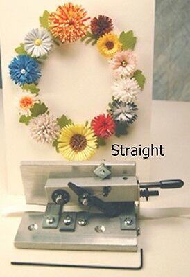 Quilling Paper Metal FRINGER Straight Cut 90*  Paplin Quilling or General Craft