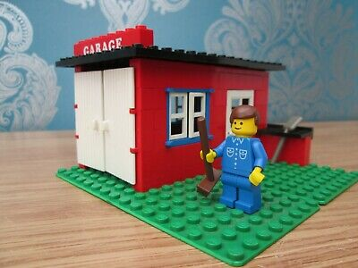 Lego Genuine Vintage Garage Set 1000 Picclick Uk