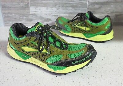 ca2e28ecc1e Men s BROOKS Cascadia 7 Trail Running Athletic Training Sneaker Shoes size  10.5