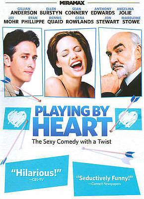 Playing By Heart (DVD, 2011) Dennis Quaid, Gillian Anderson, Sean Connery
