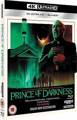 THE PRINCE OF DARKNESS (1987 - 2019 Release) NEW 4K Ultra HD UHD+BLU-RAY+Bonuses