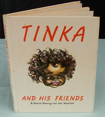 Tinka And His Friends Annual Book by Brownie Downing and John Mansfield